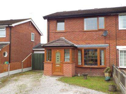 3 Bedrooms Semi Detached House for sale in Fell View, Grimsargh, Preston, Lancashire