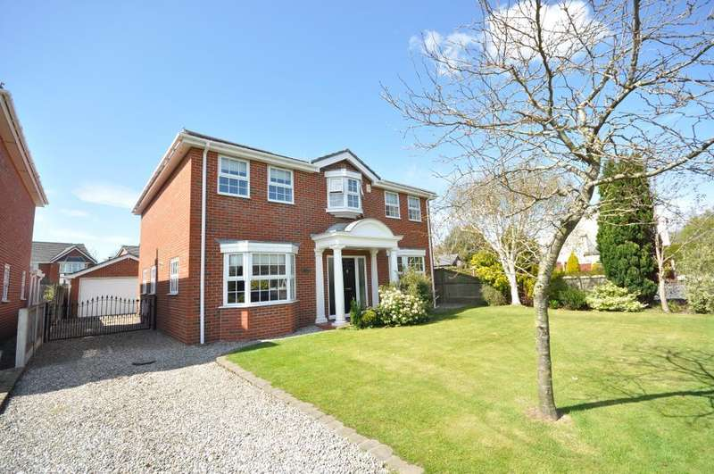 4 Bedrooms Detached House for sale in Bryning Fern Lane, Kirkham, Preston, Lancashire, PR4 2BQ