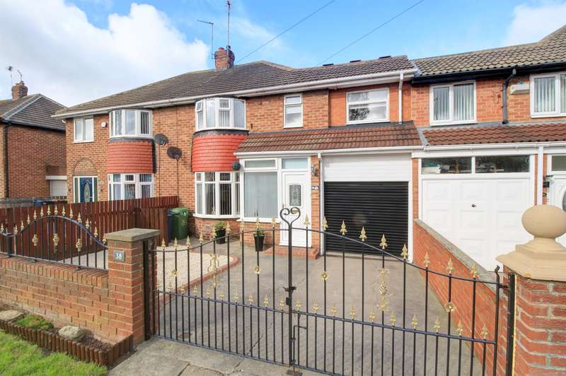 4 Bedrooms Semi Detached House for sale in Dovedale Road, Seaburn, Sunderland, SR6 8LN