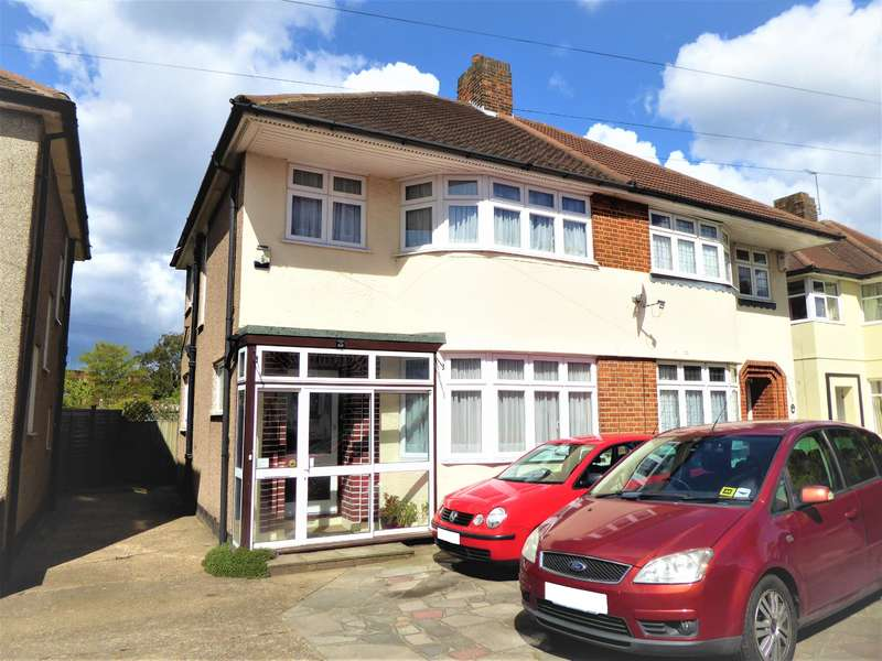 3 Bedrooms Semi Detached House for sale in Woodlands Road, Bexleyheath, Kent, DA7 4AE