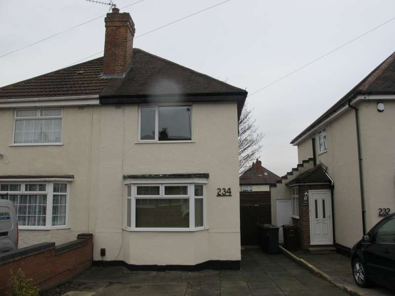 2 Bedrooms Semi Detached House for sale in Lincoln Road North, Solihull