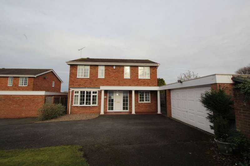 4 Bedrooms Detached House for sale in Meadow View, Rolleston-On-Dove, Burton-On-Trent, DE13