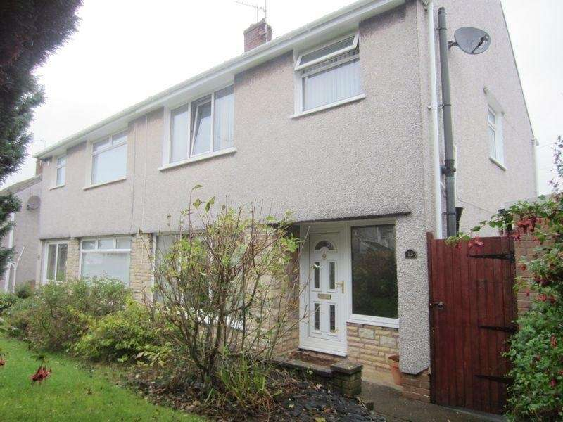 3 Bedrooms Semi Detached House for sale in Cae Bach Close, Michaelston, Cardiff. CF5