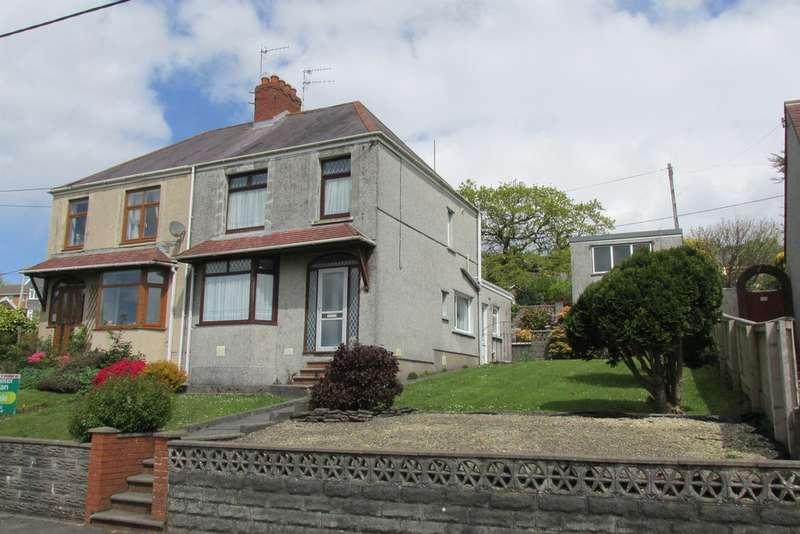 3 Bedrooms Semi Detached House for sale in Carmarthen Road, Fforest, Swansea