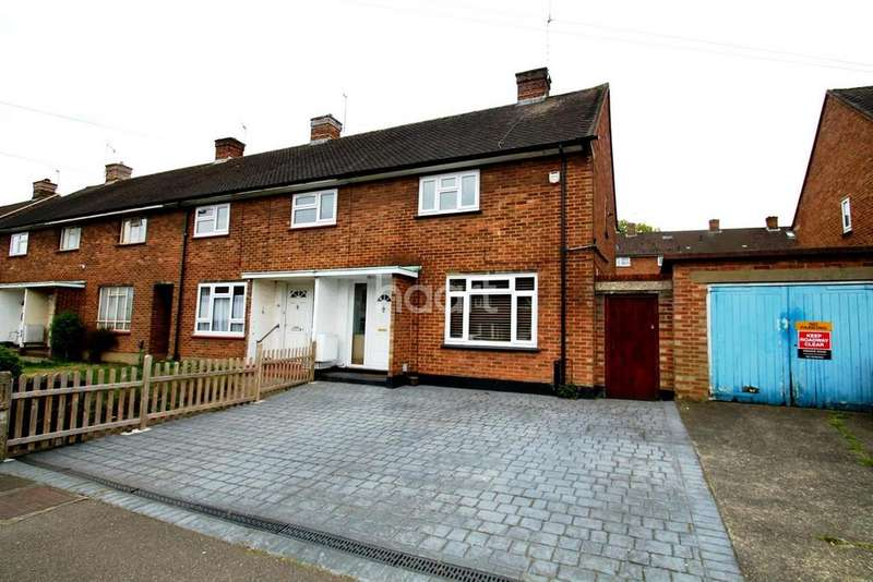 2 Bedrooms End Of Terrace House for sale in Ganders Ash, Watford, WD25