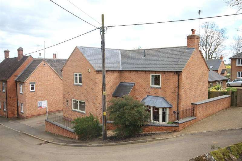 5 Bedrooms Detached House for sale in Church Hill, Hollowell, Northamptonshire, NN6