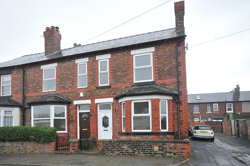 3 Bedrooms End Of Terrace House for sale in White Street, Stockton Heath