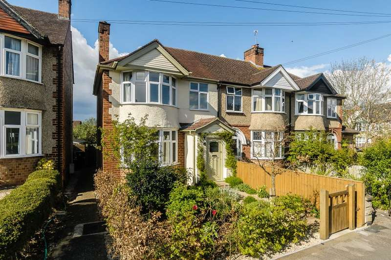 3 Bedrooms Semi Detached House for sale in Hunsdon Road, Oxford, OX4 4JE