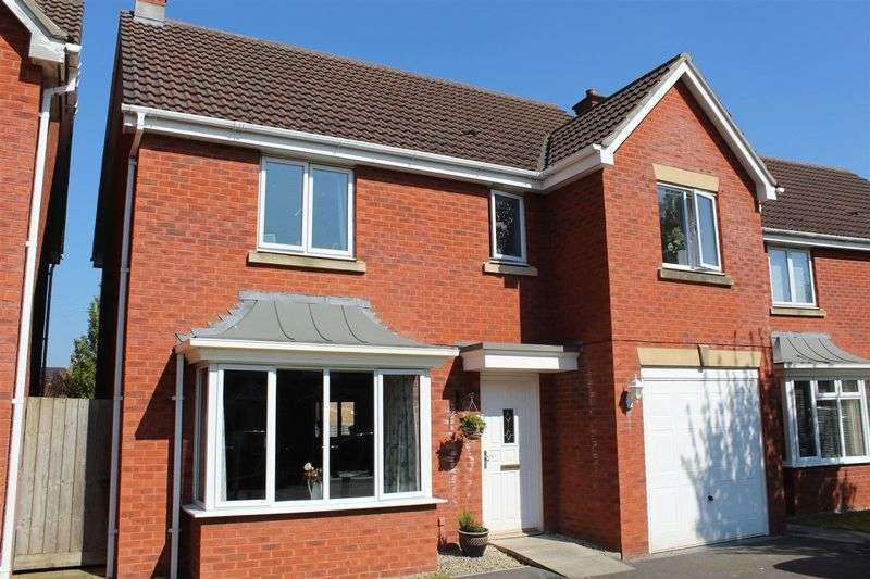 4 Bedrooms Detached House for sale in Compton Drive, Weston-Super-Mare