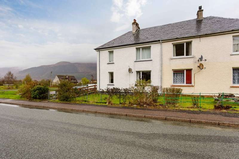 2 Bedrooms Villa House for sale in Leven Terrace, Ballachulish, Highland, PH49 4JN