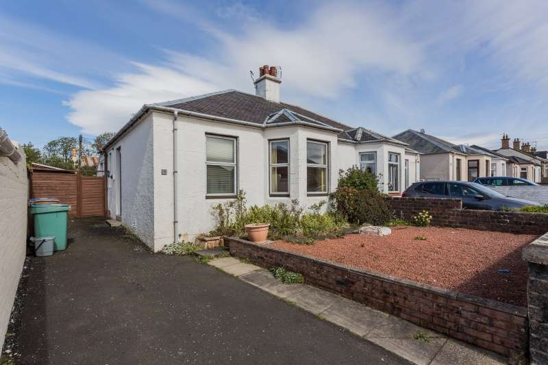 2 Bedrooms Semi Detached Bungalow for sale in Heathfield Road, Ayr, South Ayrshire, KA8 9DX