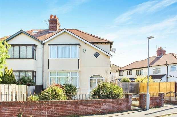 3 Bedrooms Semi Detached House for sale in Amos Avenue, Liverpool, Merseyside