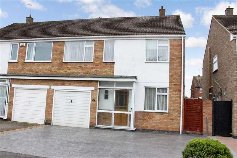 4 Bedrooms Semi Detached House for sale in Morse Road, Whitnash, Whitnash, CV31