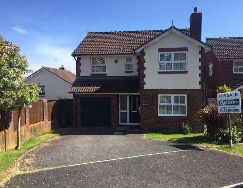 4 Bedrooms Detached House for sale in Honiton