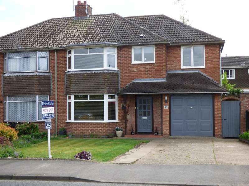 4 Bedrooms Semi Detached House for sale in Mallory Road, Bishops Tachbrook