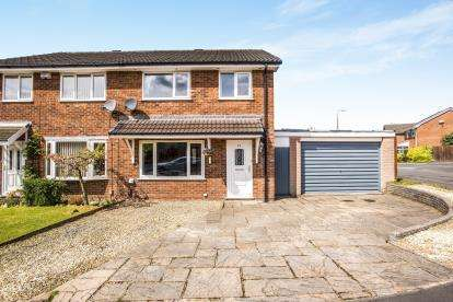 3 Bedrooms Semi Detached House for sale in Whernside Way, Leyland, Preston, .