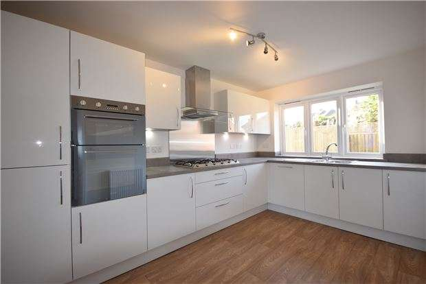 4 Bedrooms Detached House for sale in Plot 21 The Burford, Charlotte Mews, Heath Rise, Cadbury Heath, Bristol, BS30 8DD