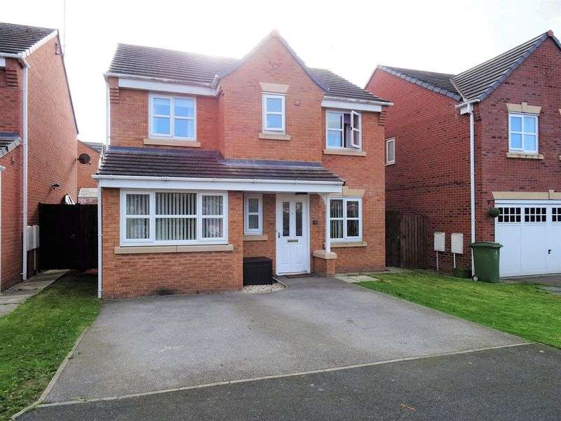 4 Bedrooms Detached House for sale in Heather Close, Wrexham