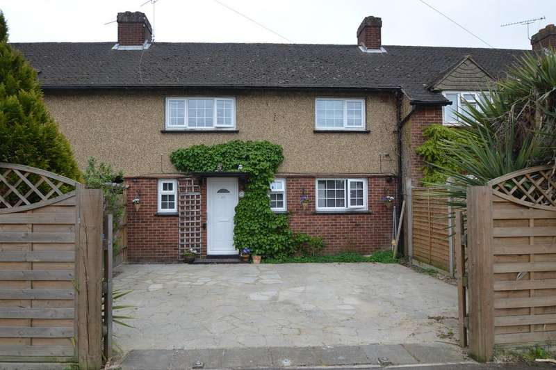 3 Bedrooms Terraced House for sale in Southdown Road, HERSHAM KT12