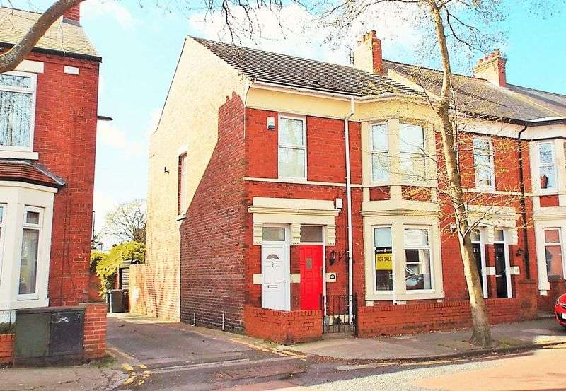 2 Bedrooms Flat for sale in Queen Alexandra Road , North Shields