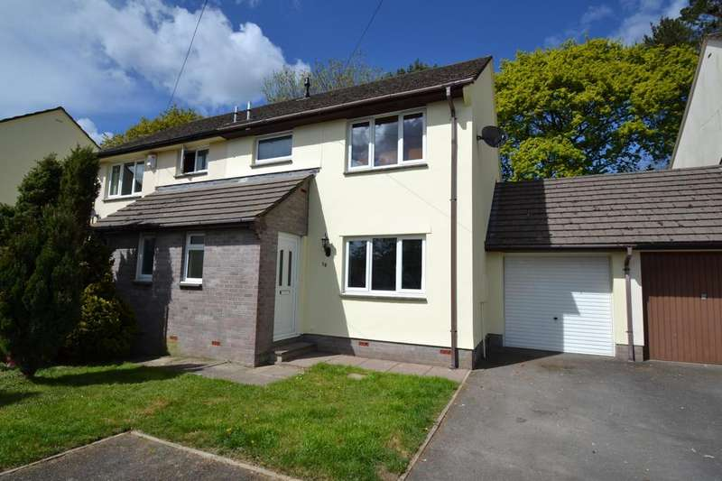 3 Bedrooms Semi Detached House for sale in Speedwell Close, Barnstaple