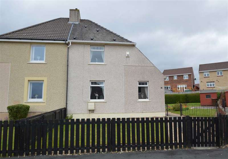 3 Bedrooms Semi Detached House for sale in Hillhead Crescent, Motherwell