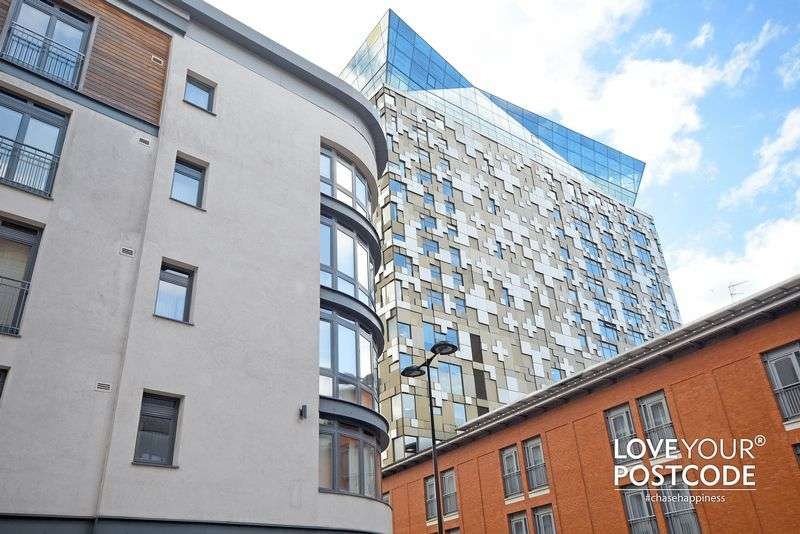 2 Bedrooms Flat for sale in Postbox, Upper Marshall Street, Birmingham City Centre, B1 1LA