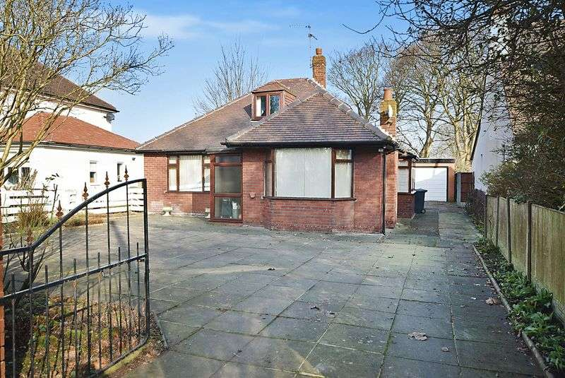 3 Bedrooms Detached Bungalow for sale in Coroners Lane, Widnes