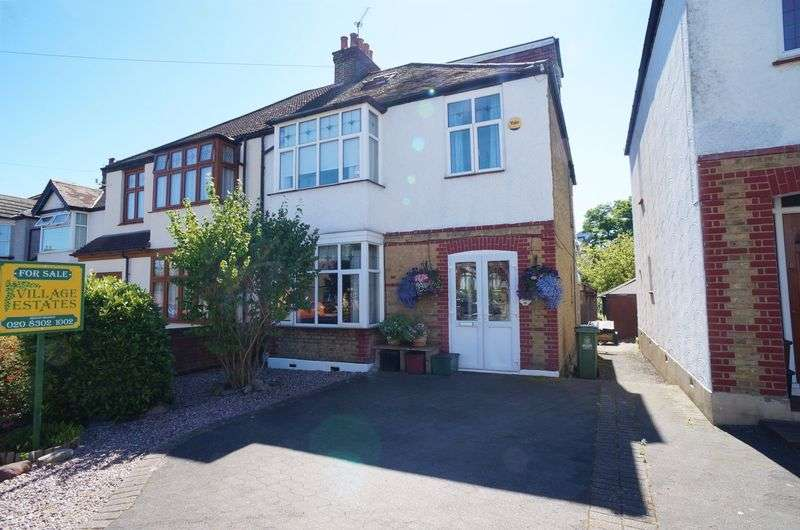 5 Bedrooms Semi Detached House for sale in Longlands Road, Sidcup, DA15 7LR