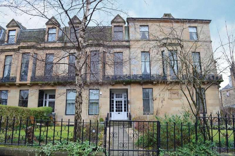 2 Bedrooms Flat for sale in Beaconsfield Road, Garden Flat, Kelvinside, Glasgow, G12 0PJ