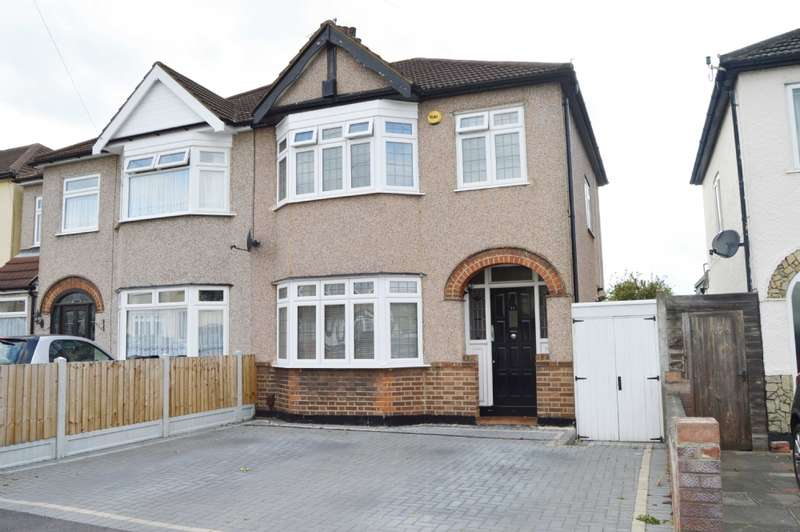 3 Bedrooms Semi Detached House for sale in Cheviot Road, Hornchurch