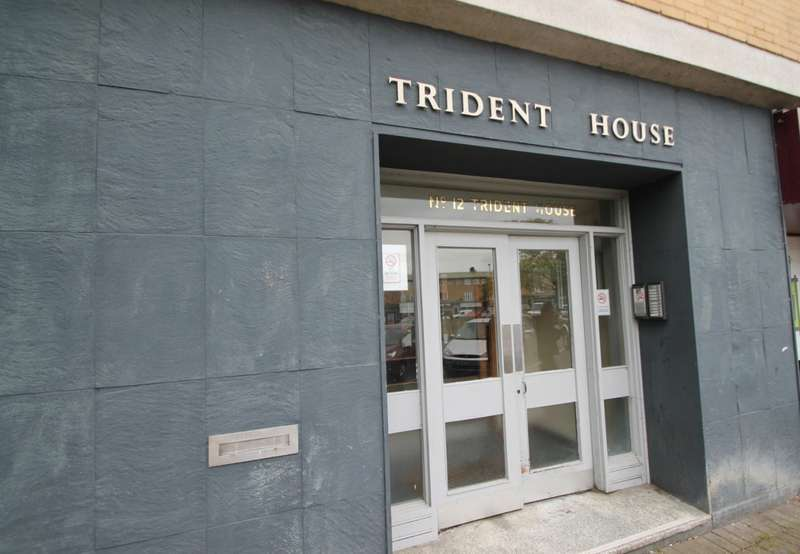 1 Bedroom Flat for sale in Trident House, Clare Road, Stanwell, TW19