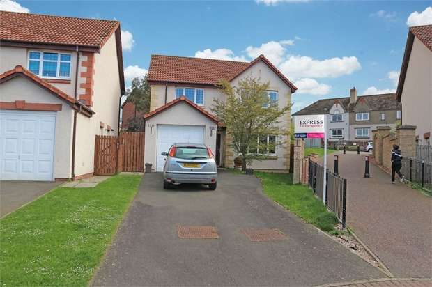 4 Bedrooms Detached House for sale in Inchkeith Grove, Tranent, East Lothian