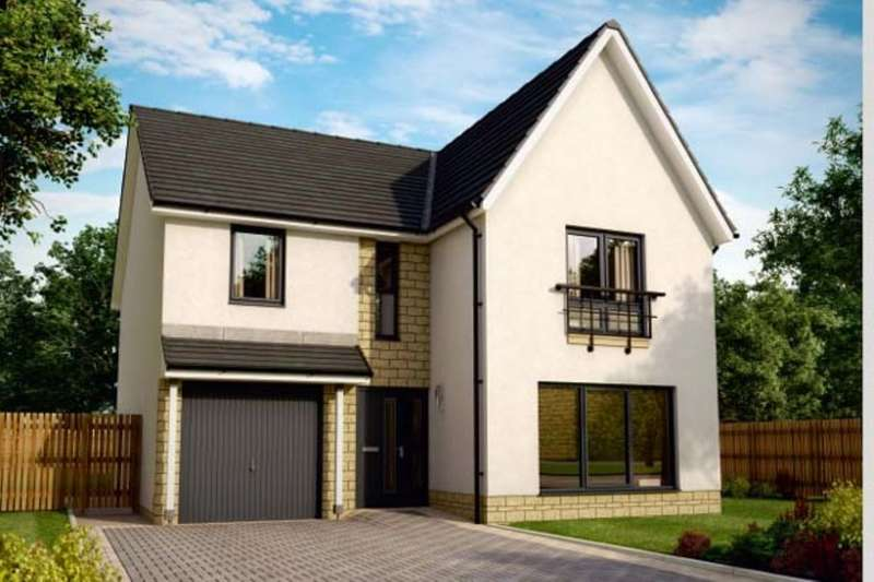 4 Bedrooms Detached House for sale in Azure, Mid Calder, EH54