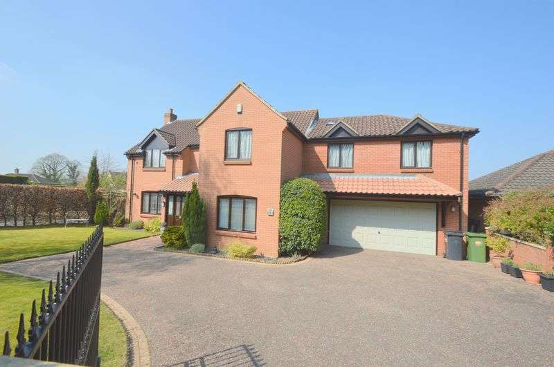 5 Bedrooms Detached House for sale in Hinshalwood Way, Old Costessey, Norwich