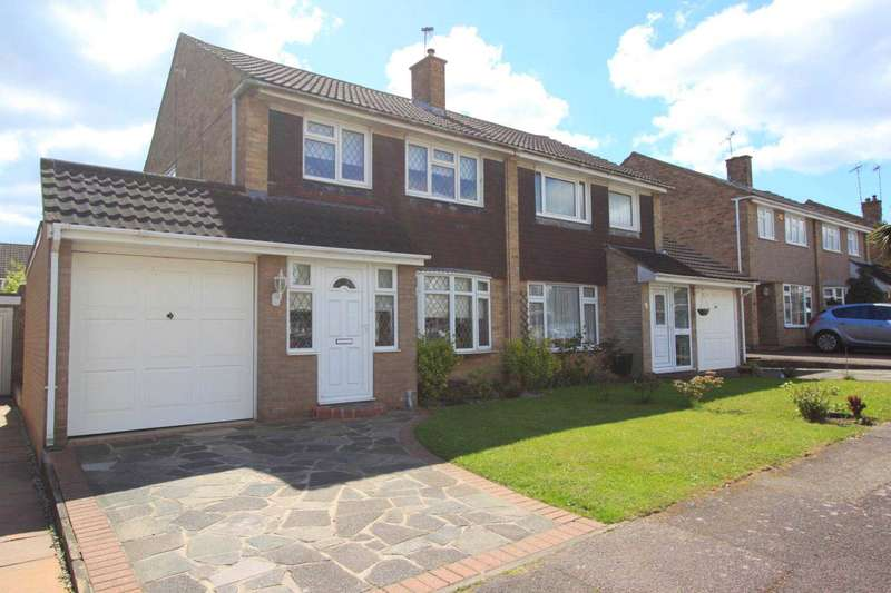 3 Bedrooms Semi Detached House for sale in Iris Close, Brentwood