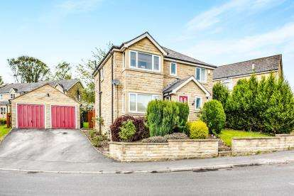 4 Bedrooms Detached House for sale in Ponyfield Close, Birkby, Huddersfield, West Yorkshire