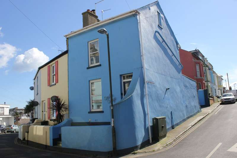 3 Bedrooms End Of Terrace House for sale in Furzeham, Brixham
