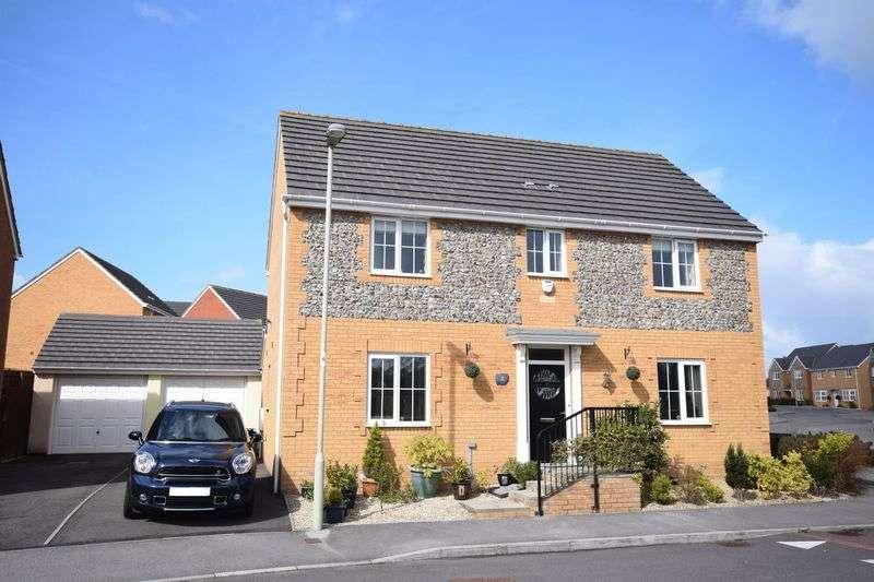 4 Bedrooms Detached House for sale in 2 Clos Y Golomen, Broadlands, Bridgend CF31 5FQ