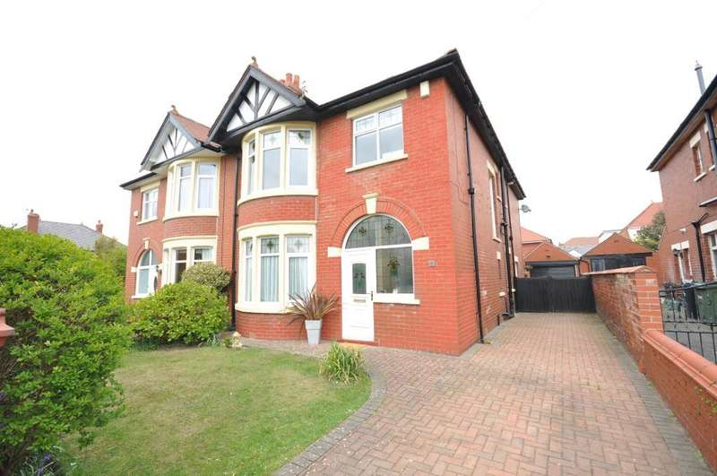 4 Bedrooms Semi Detached House for sale in The Boulevard, St Annes, Lytham St Annes, Lancashire, FY8 1EH