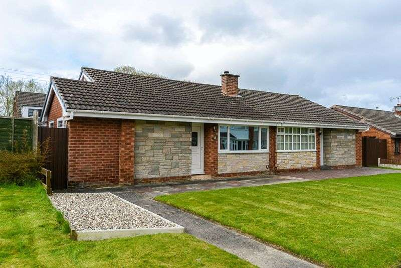 2 Bedrooms Semi Detached Bungalow for sale in Stockwell Close, Winstanley