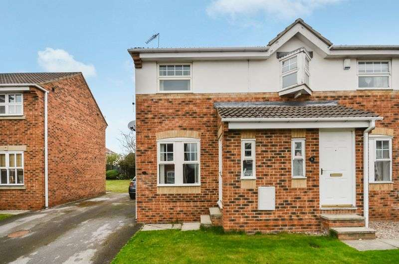 2 Bedrooms Semi Detached House for sale in 7 Park Close, Wakefield, WF4 2QX