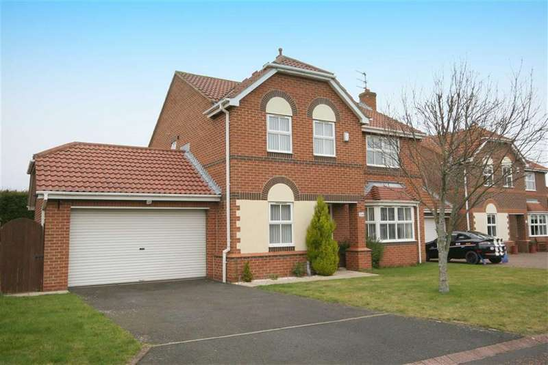 4 Bedrooms Property for sale in Abbots Way, North Shields, Tyne & Wear, NE29