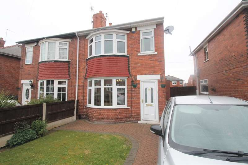 3 Bedrooms Semi Detached House for sale in Bedale Road, Scawsby