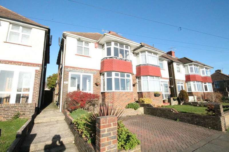 3 Bedrooms Semi Detached House for sale in Highlands Road, Portslade, BN41 2BN