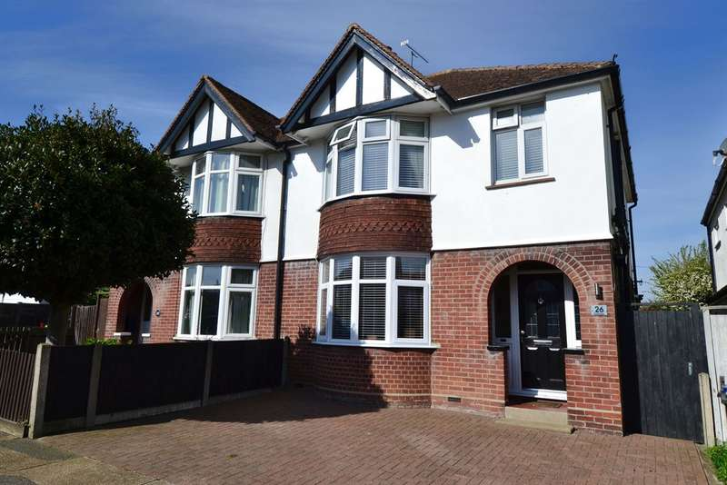 3 Bedrooms Semi Detached House for sale in Fitzroy Road, Tankerton, Whitstable