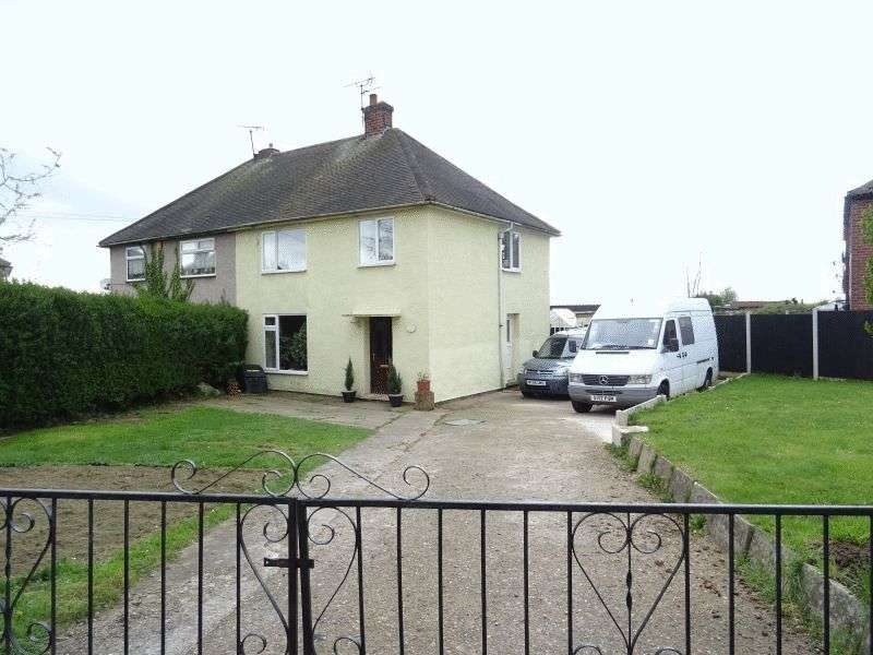 3 Bedrooms Semi Detached House for sale in Kingsley Crescent, Stonebroom