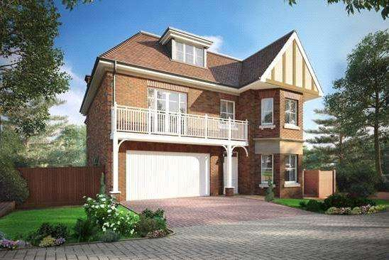5 Bedrooms Detached House for sale in High Peak, London Road, Sunningdale, Berkshire