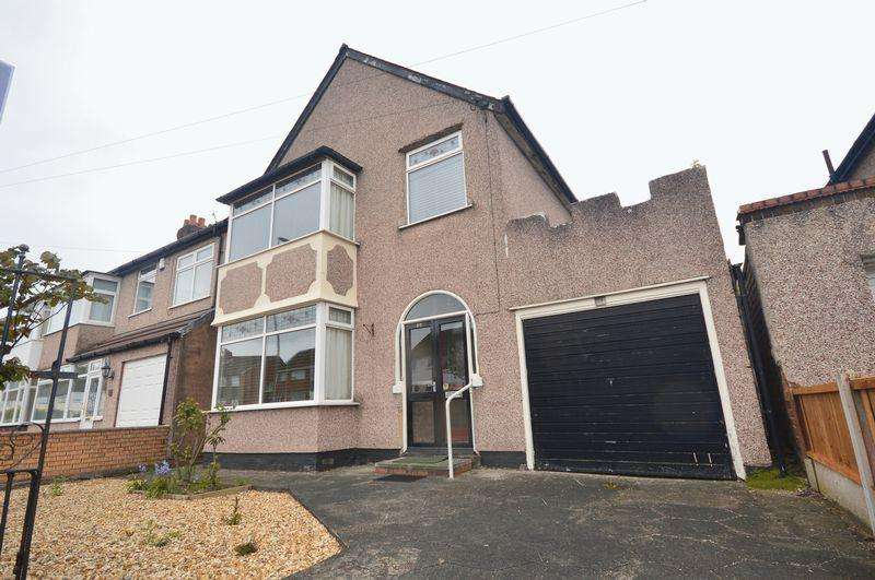 3 Bedrooms Detached House for sale in Mackets Lane, Hunts Cross