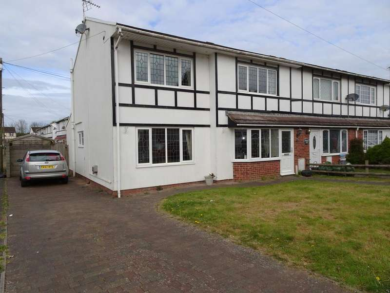 4 Bedrooms End Of Terrace House for sale in GREENACRES, SOUTH CORNELLY, CF33 4SF